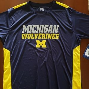Michigan Wolverines tshirt M